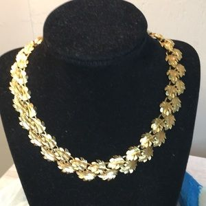 Napier Leaf Necklace